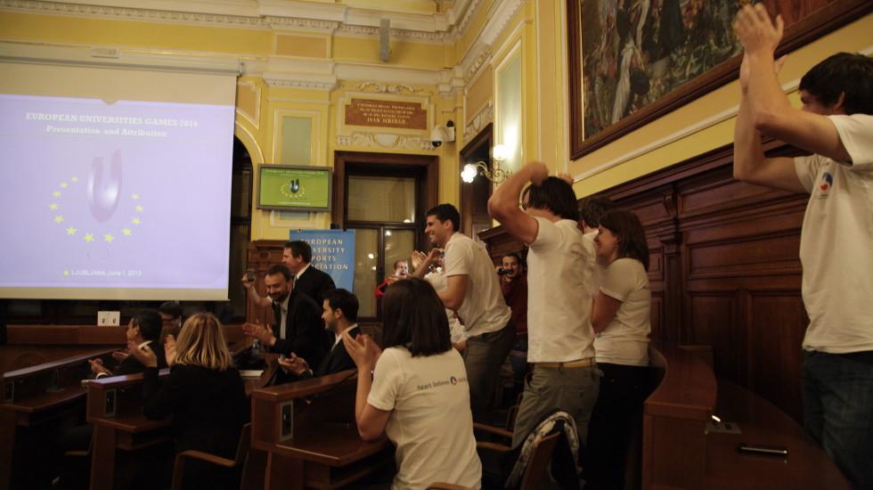 European universities games Zagreb-Rijeka 2016