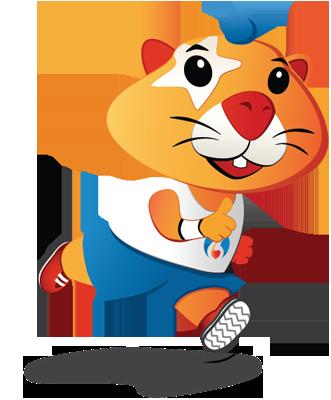 Meet Hrki - our mascot!